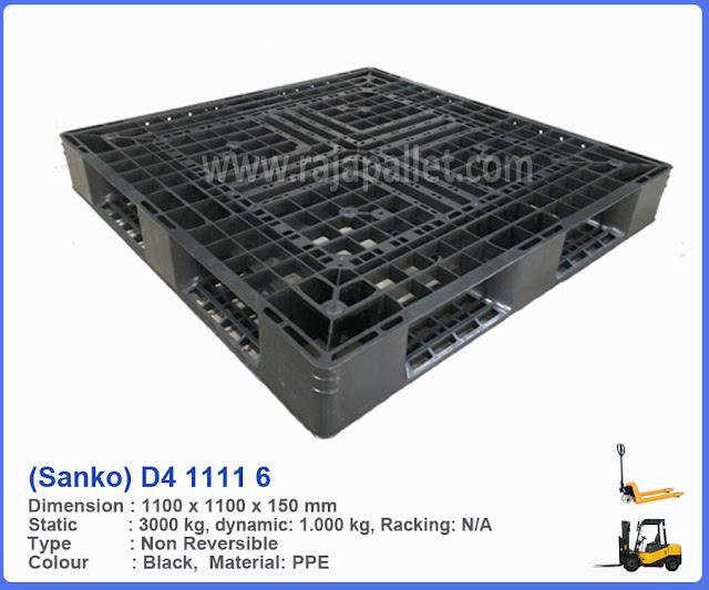 Pallet Plastik One Duty D4 1111 6 (Sanko)