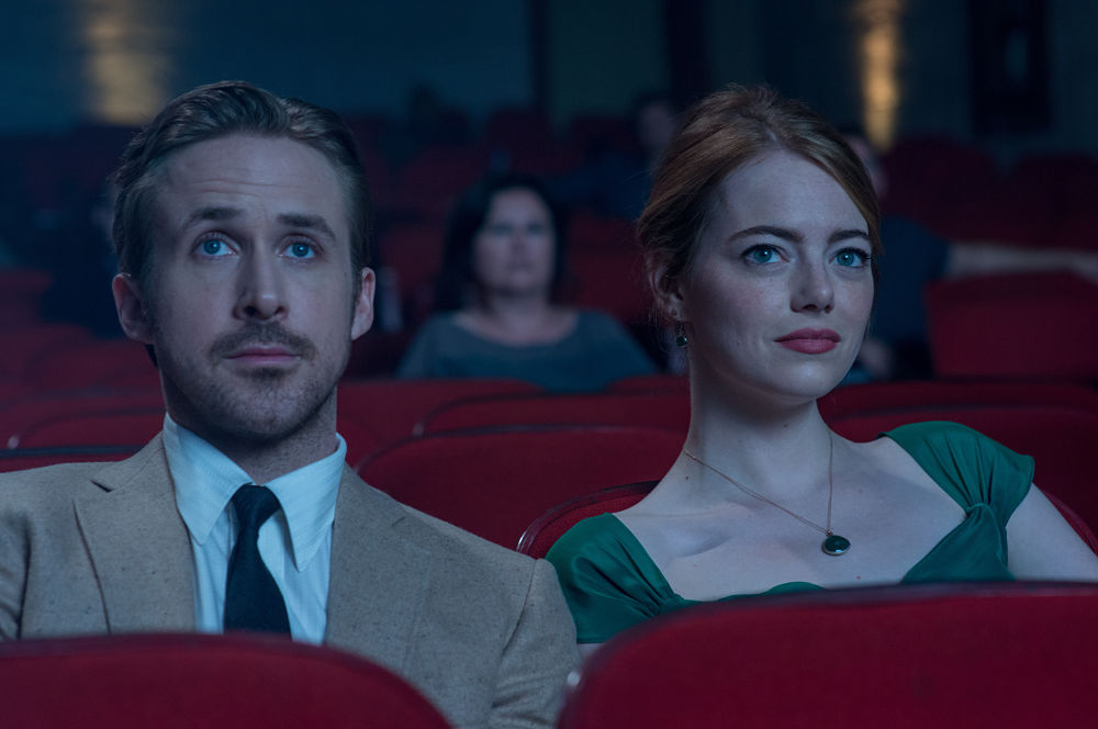 LA LA LAND -pelicula - Ryan Gosling y Emma Stone