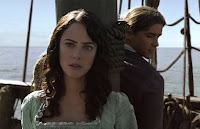 Kaya Scodelario and Brenton Thwaites in Pirates of the Caribbean: Dead Men Tell No Tales (33)