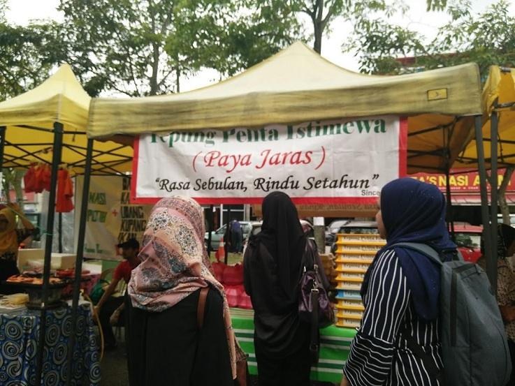 Tepung Pelita Paya Jaras viral