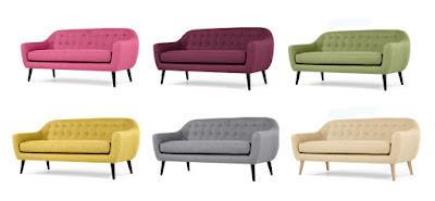 desain sofa retro terbaru