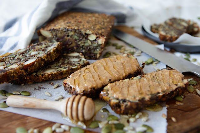 Nut, Seed and Fruit Bread by Mette Helbak