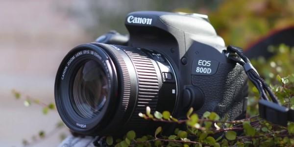 gambar kamera dslr canon eos 800d
