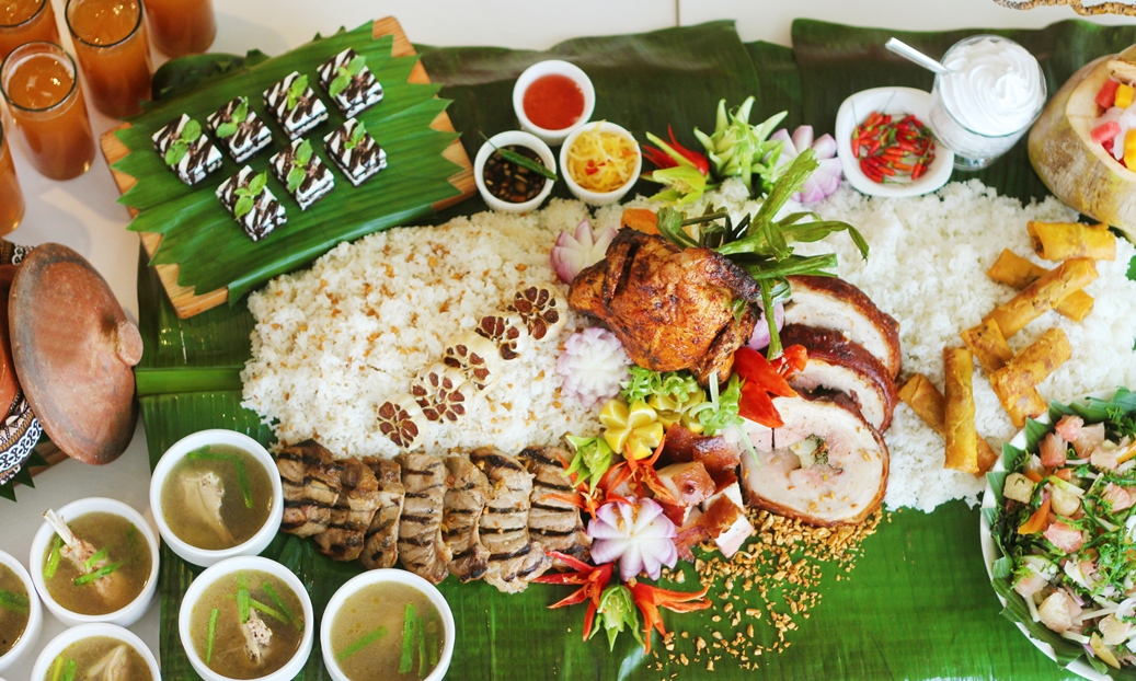 RBG Bar & Grill Kadayawan Special: Boodle Fight Meal
