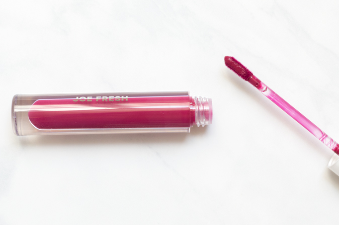 joe fresh lip creme in wine review