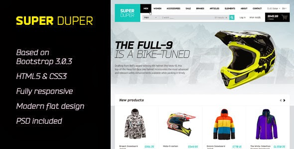 ThemeForest - SuperDuper | HTML5 Template Responsive
