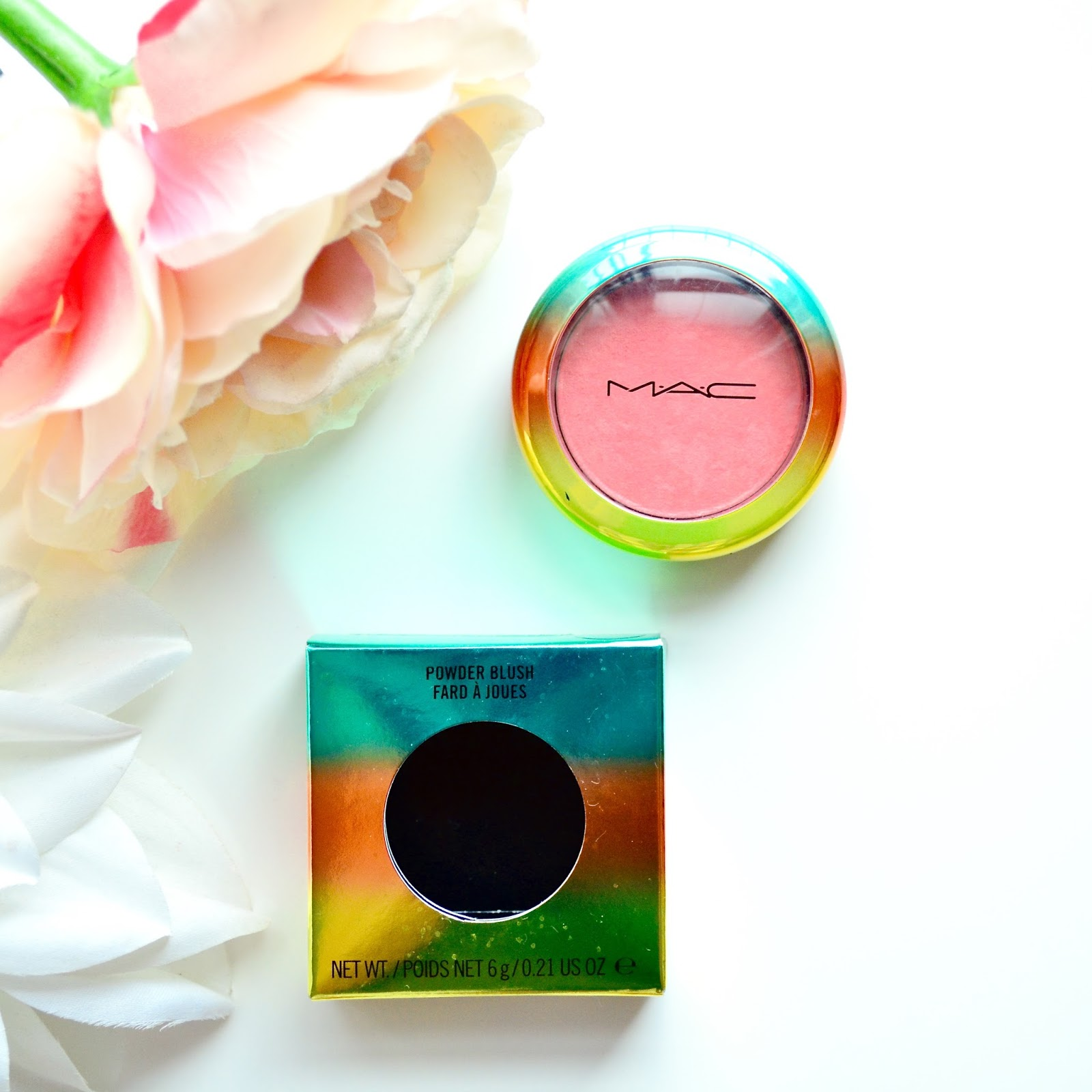 Mac, Mac Blush, Mac Hipness, Mac Wash And Dry Collection, Hipness Blush, Mac Limited Edition, Blusher, Makeup, Summer Makeup