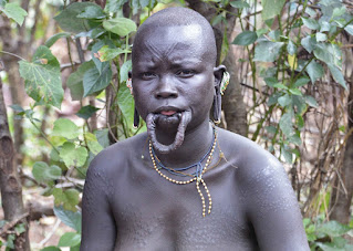 Beauty of the Surma African Tribe Lip Plate People of Africa