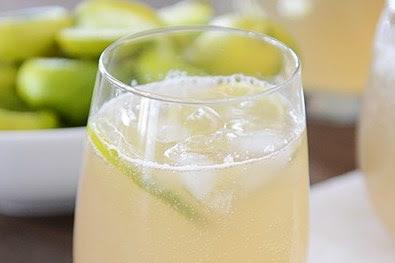 GINGER ALE MINT LIMEADE #drink #lime