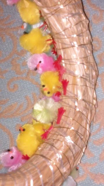 tipukranssi pääsiäinen ohje