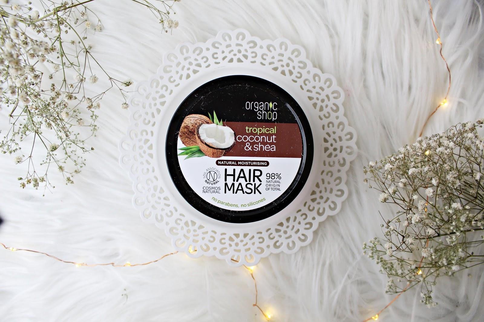 Maska do włosów KOKOS - Organic Shop