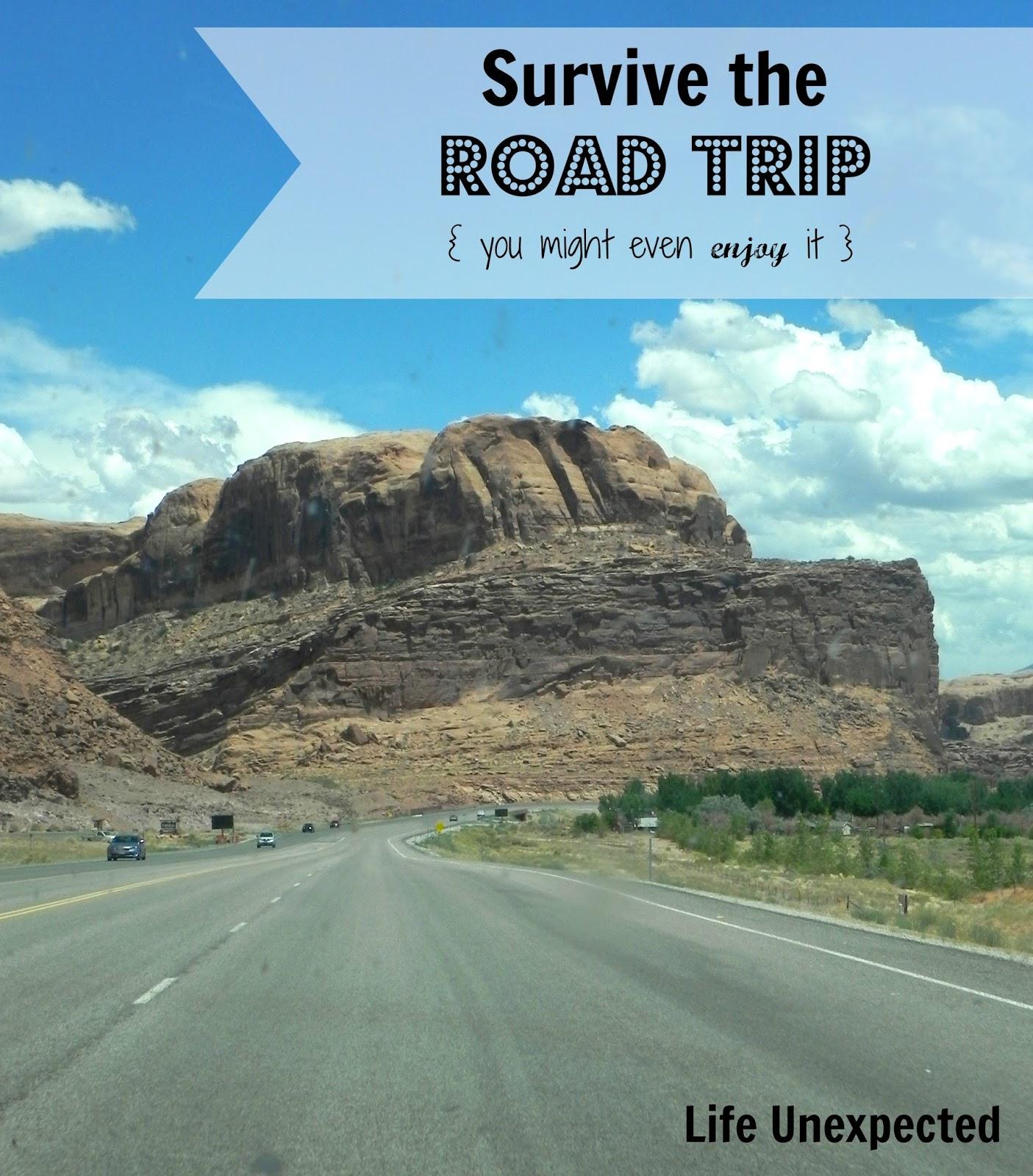 Road Trip: Life Unexpected: Surviving A LONG Road Trip