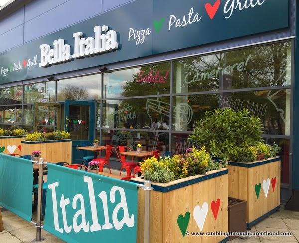 Bella Italia, Italian restaurant in Didsbury