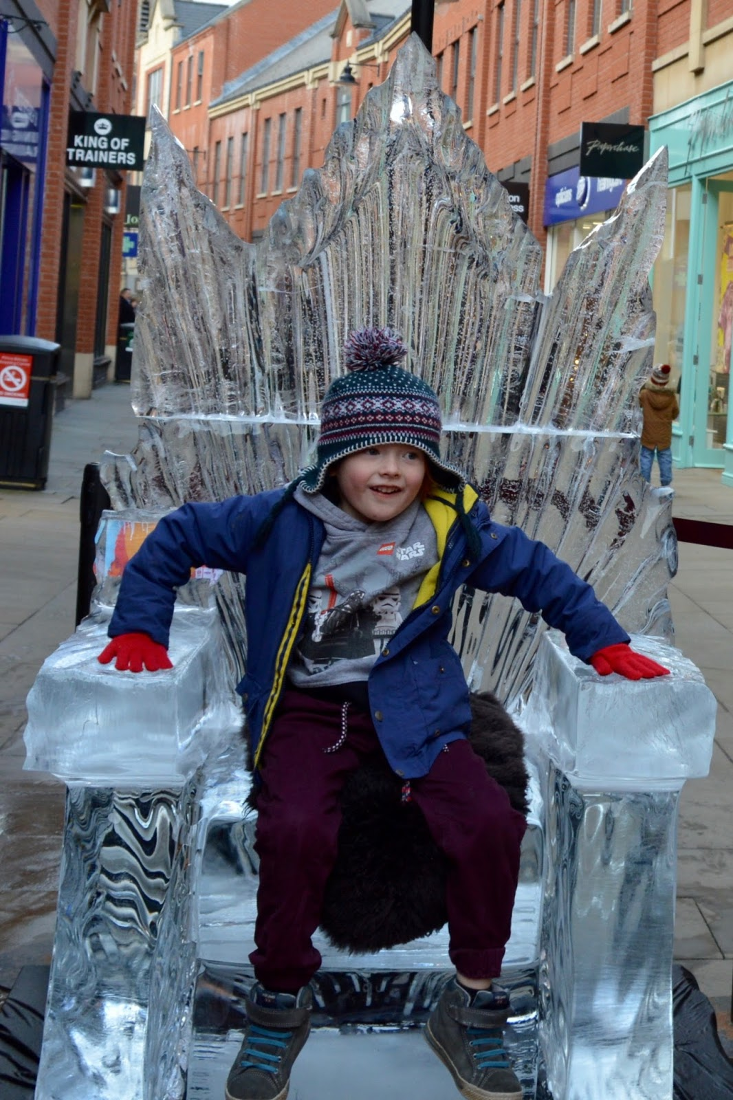 Fire and Ice Durham 2017 | Photographs & Top Tips for 2018 - Jack on the Ice Throne High Street