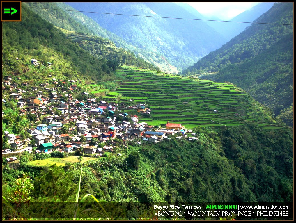 Tourist spots and attractions in Bontoc, Mountain Province