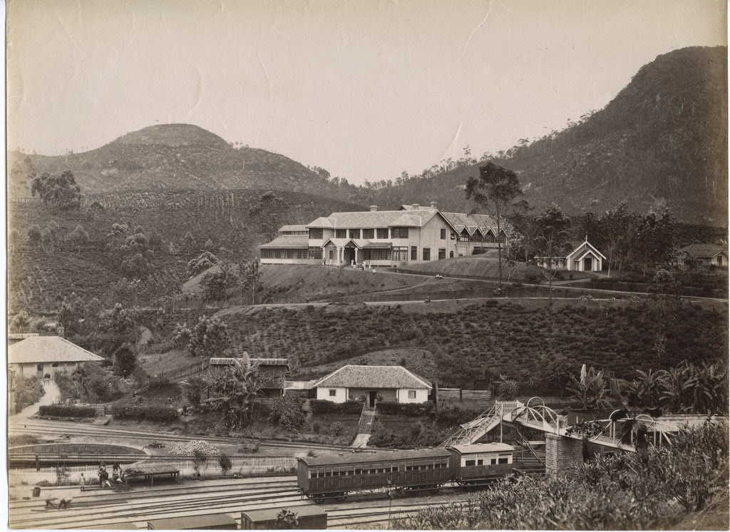 Adam's Peak Hotel in Sri Lanka - c1880's