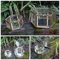 Sparkling Magpie Fox Amp Ivy Set Of Two Nested Glass