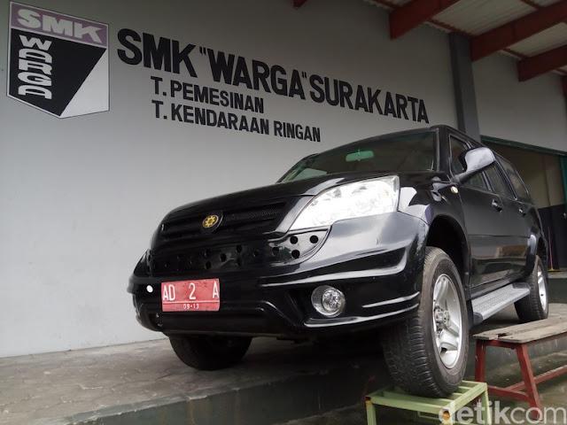 Esemka Cuma Ganti Emblem dari Mobil China Saja?