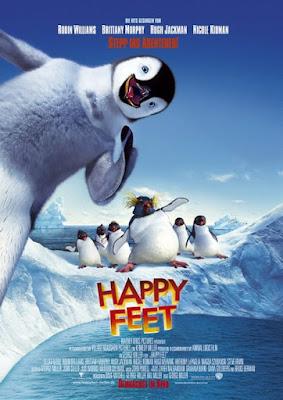 Happy Feet 2006 Dual Audio Hindi 480p BluRay 350MB