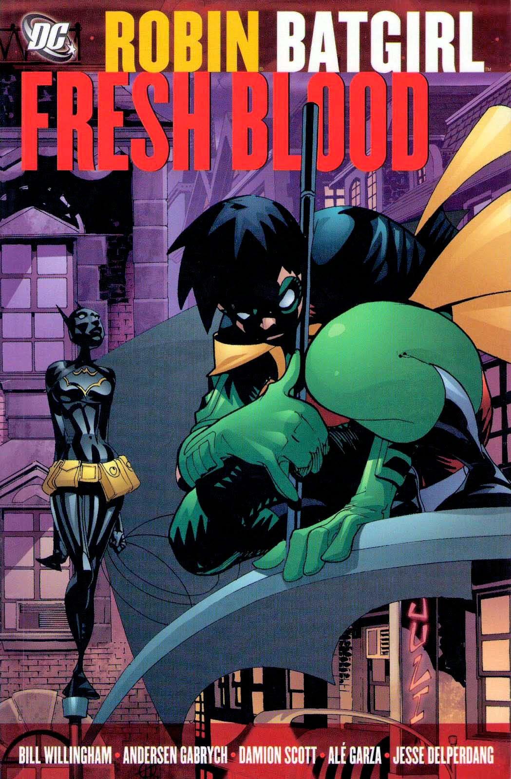 robin batgirl fresh blood