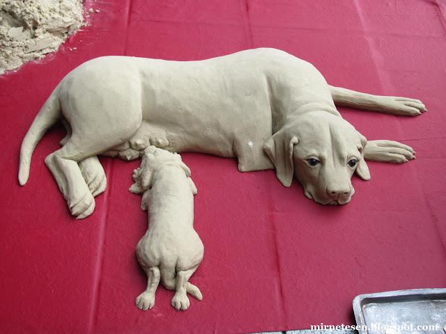 Кардифф - скульптуры из песка