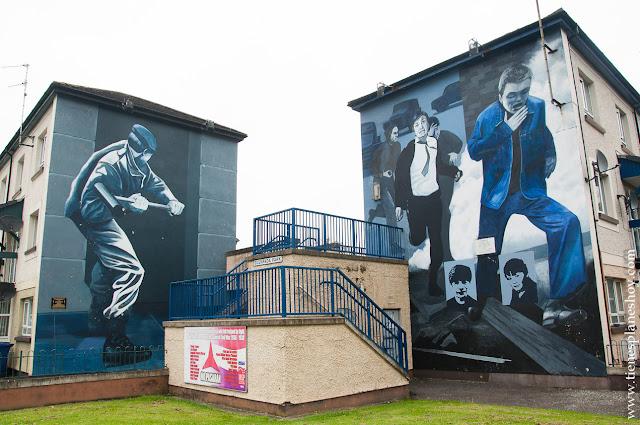 Murales Derry en Irlanda del Norte