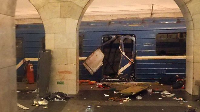 St Petersburg attack: 'Man who trained bomber' arrested near Moscow