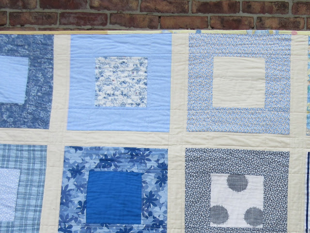 joyrolledoats quilt for Luke