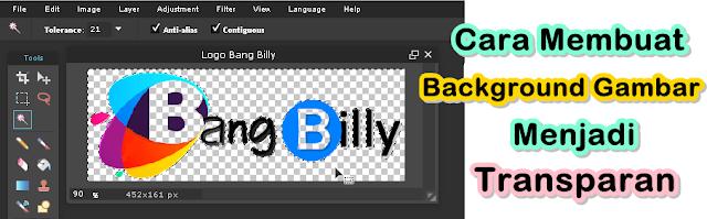 Cara Membuat Background Gambar Menjadi Transparan