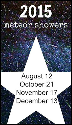 2015 meteor shower dates
