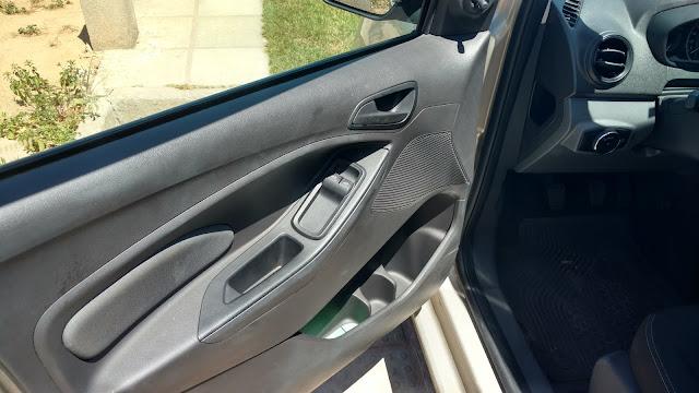 Ford Ka plásticos da porta tecido acolchoado
