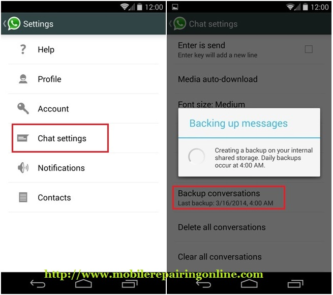 how to download whatsapp backup from andriod to iphone