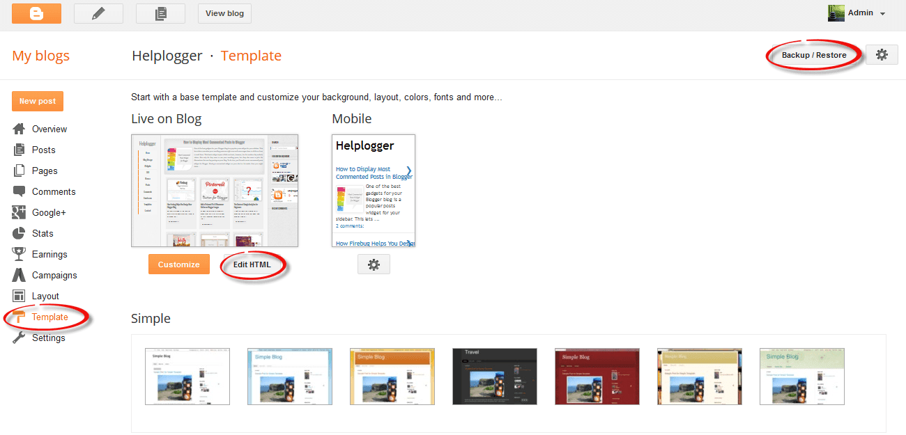 How To Upload and Use Custom Fonts in Blogger 3