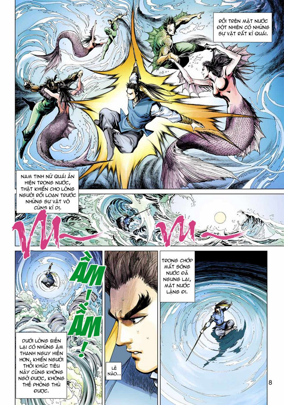 Anh Hùng Xạ Điêu anh hùng xạ đêu chap 47 trang 8