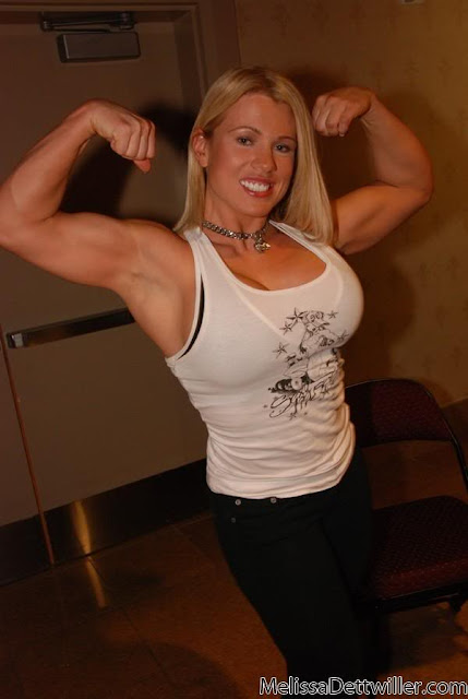 Melissa Dettwiller - Female Bodybuilder