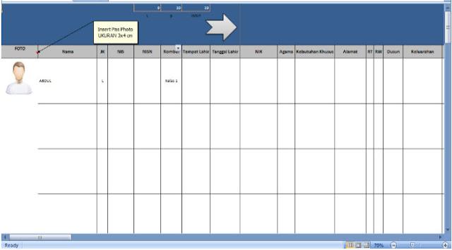 Download Aplikasi Buku Induk Siswa Menggunakan Aplikasi Excel
