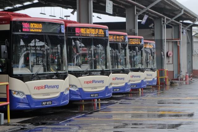 Perkhidmatan Bas Rapid Penang Parit Buntar - Penang Sentral