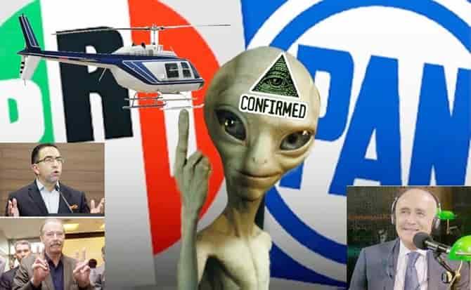 Iluminatis, extraterrestres, reptilianos