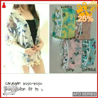 AFO361 Model Fashion Cardigan Kupu Kupu Modis Murah BMGShop