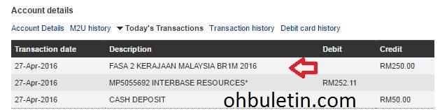 br1m 2016, br1m fasa kedua, tarikh br1m fasa 2 masuk