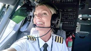 Incantevole Maria Pattersson, la pilota bionda che spopola su Instagram