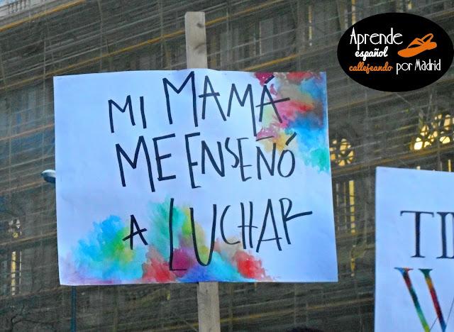 huelga feminista 8 de febrero