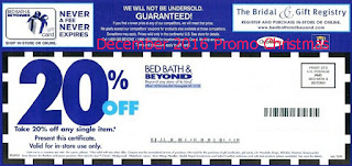 Bed Bath and Beyond coupons december 2016