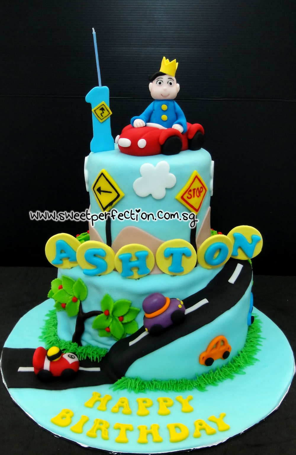 Sweet Perfection Cakes Gallery Code Cars 09 Happy