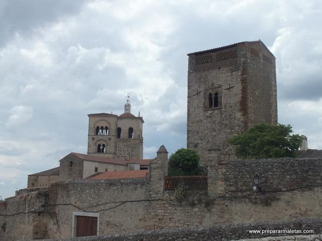 iglesias de trujillo caceres, torres y miradores