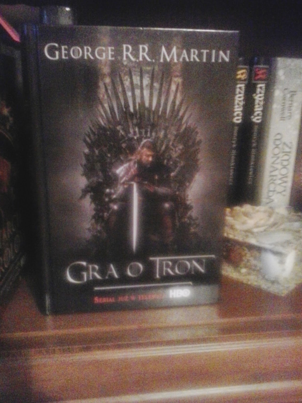 """Gra o tron"", George R.R. Martin"