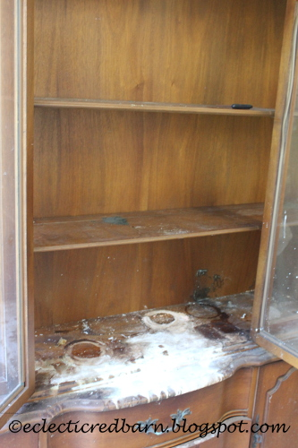 damaged hutch