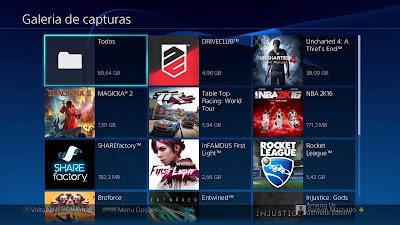 Como gravar gameplay PS4 botão Share