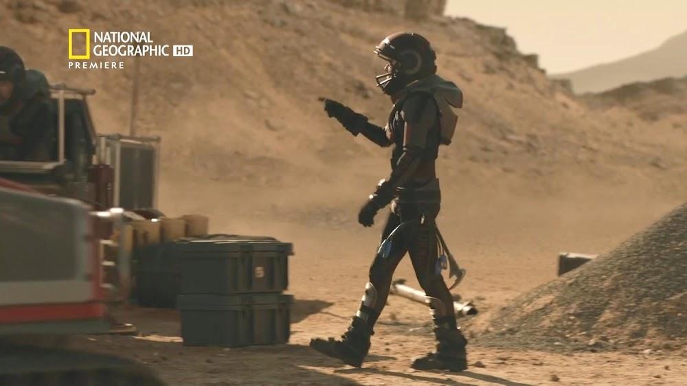 National Geographic MARS - episode 5, season 2 (miner)