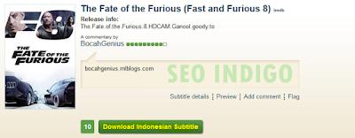 Cara Terbaru Download Subtitle Indonesia Untuk Film